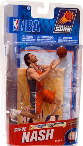 NBA Series 19 Steve Nash - Phoenix Suns Latin Nights Jersey Gold Variant Action Figure