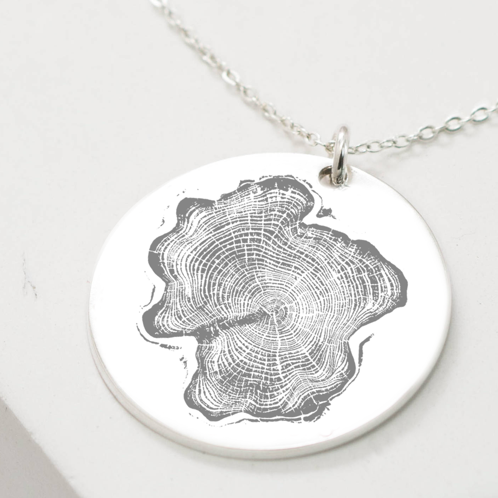 Eqo Tree Ring Pendant