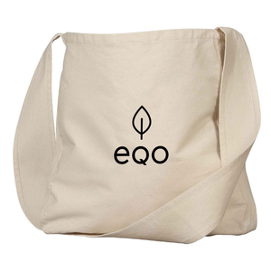 Eqo Organic Cotton Over-the-Shoulder Shopping Bag