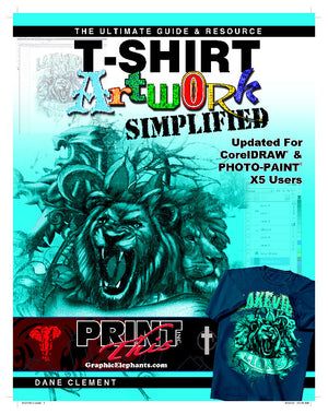 T-Shirt Artwork Simplified Corel