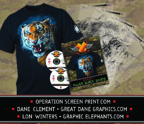 Operation Screen Print Kit 1