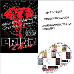 Special Effects & Advanced Screen Printing Seminar