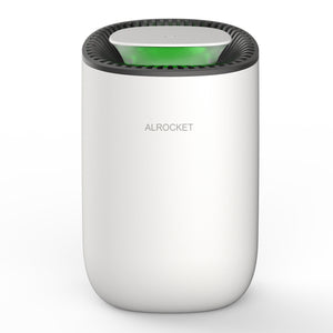 ALROCKET Dehumidifier, 600ml Ultra Quiet Small Portable Dehumidifiers with Auto Shut Off for Basement, Bedroom, Bathroom, Baby Room, RV and Office (Up to 269 Sq.Ft)