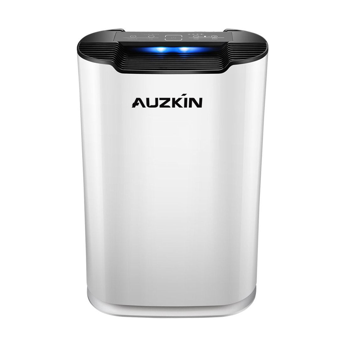 AUZKIN Air purifiers True HEPA Air Purifier - 3 Speeds Plus UV-C Air Sanitizer - Eliminates Dust, Pollen, Smoke, Household Odors and More - with Whisper-Quiet Operation and Auto Off Timer