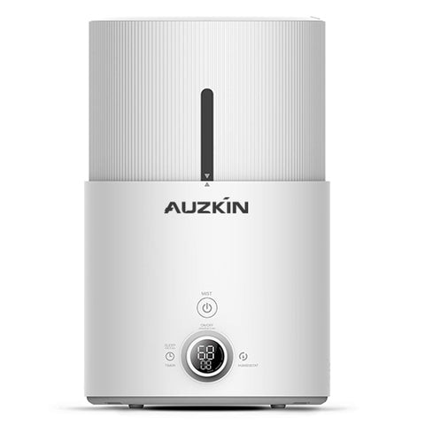 AUZKIN Humidifiers Ultrasonic Cool Mist Humidifier - Premium Humidifying Unit with 1.5L Water Tank, Whisper-Quiet Operation, Automatic Shut-Off and Night Light Function - Lasts Up to 16 Hours