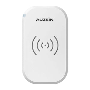AUZKIN Qi Certified Wireless Charger, 3 Coils 7.5W Fast Wireless Charger Compatible iPhone Xs Max/XR/X/XS/8/8 Plus, 10W Compatible Samsung Galaxy S9/S8/Note 9/Note 8/S7,5W All Qi-Enabled Phone