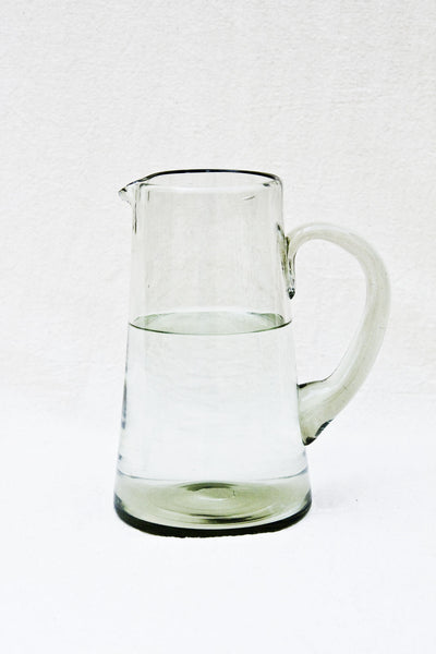 Recycled Glass Water Jug