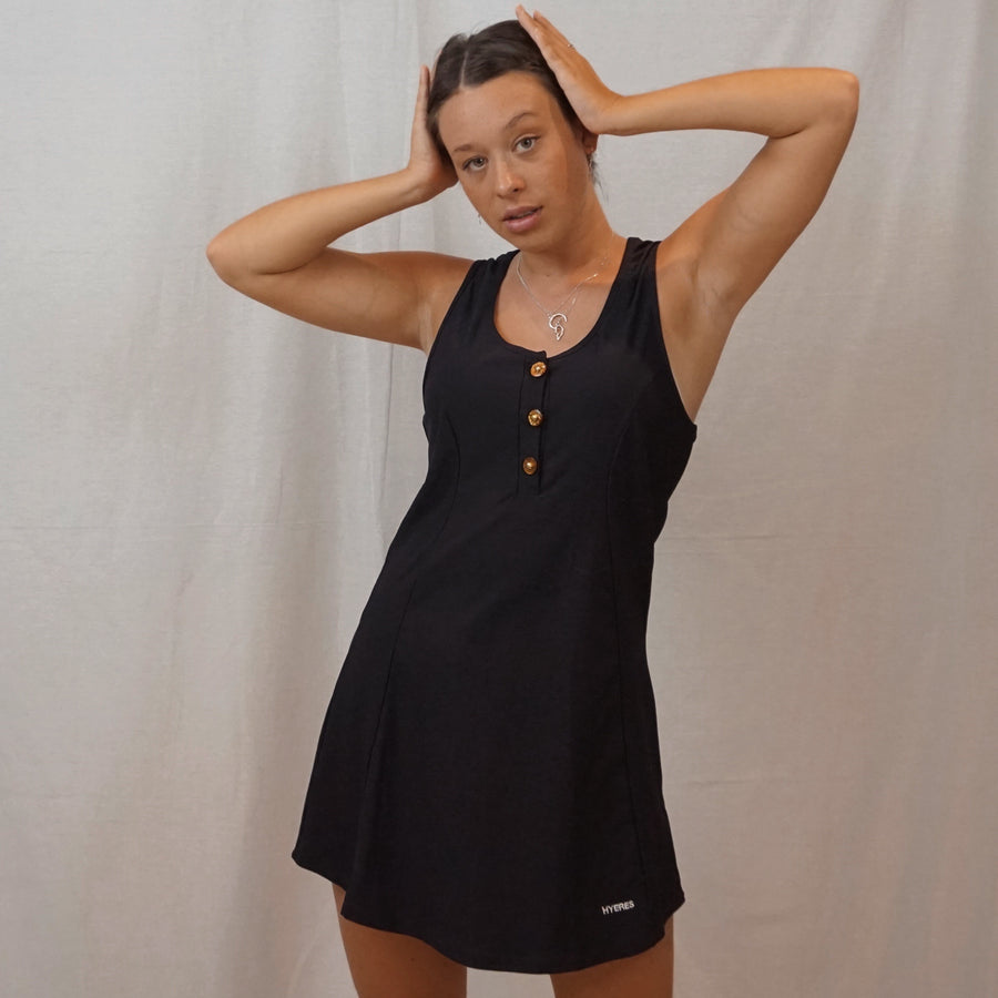 black hyeres dress