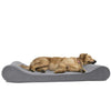 Orthopedic Lounger Pet Bed for Dogs & Cats