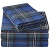 Plaid Flannel Sheet Set