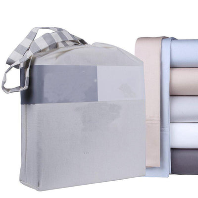 100% Extra-Long Staple Cotton 4 Piece Bed Sheet Set