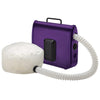 Soft Bonnet Dryer, Purple with White Bonnet