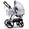 Luxury Anti-shock Folding Convertible Baby Carriage