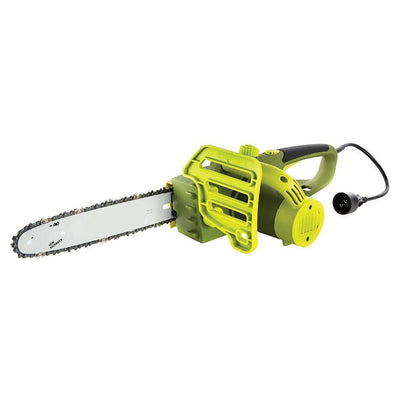 Electric Chain Saw With Automatic Chain Lubrication System