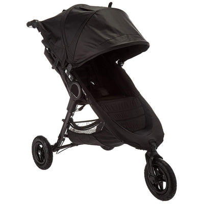 Lightweight Stroller With Large Adjustable Sun Canopy