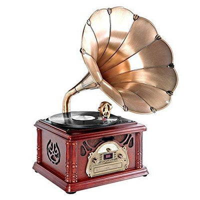 Portable Bluetooth Phonograph Record Player