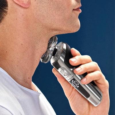 Electric Shaver With Precision Trimmer