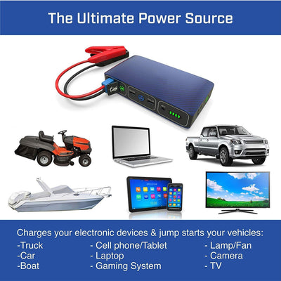 Portable Phone Laptop Charger Car Jump Starter
