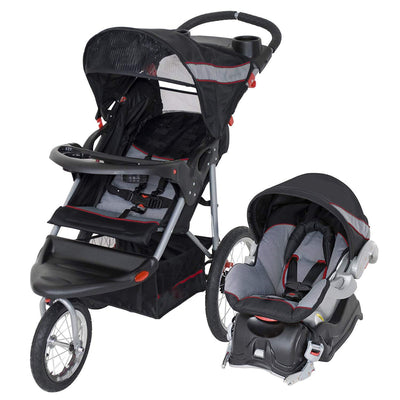 Baby Stroller With Large Storage Basket