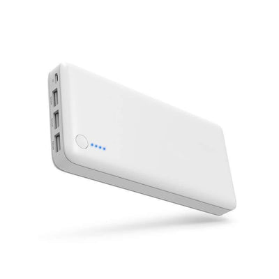Portable Battery Charger Smart Devices(White)