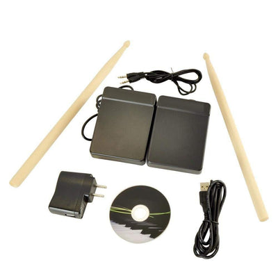 Tabletop Electronic Roll Up Drum Kit