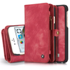 2 in 1 Detachable Genuine Leather Flip Cover Case