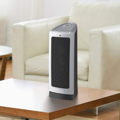 Electronic Oscillating Tower Heater, Digital Controls