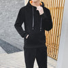 With Velvet Slim Fitness Men's Sports Suit
