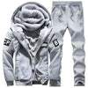 Plus Size Extra Thick Windproof Comfort Men's Sports Suit