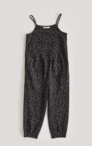 GIRLS SPENCER LEOPARD JUMPER