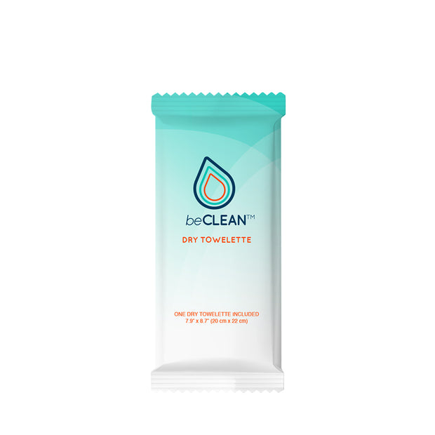 beCLEAN  Dry Towelette - World Amenities