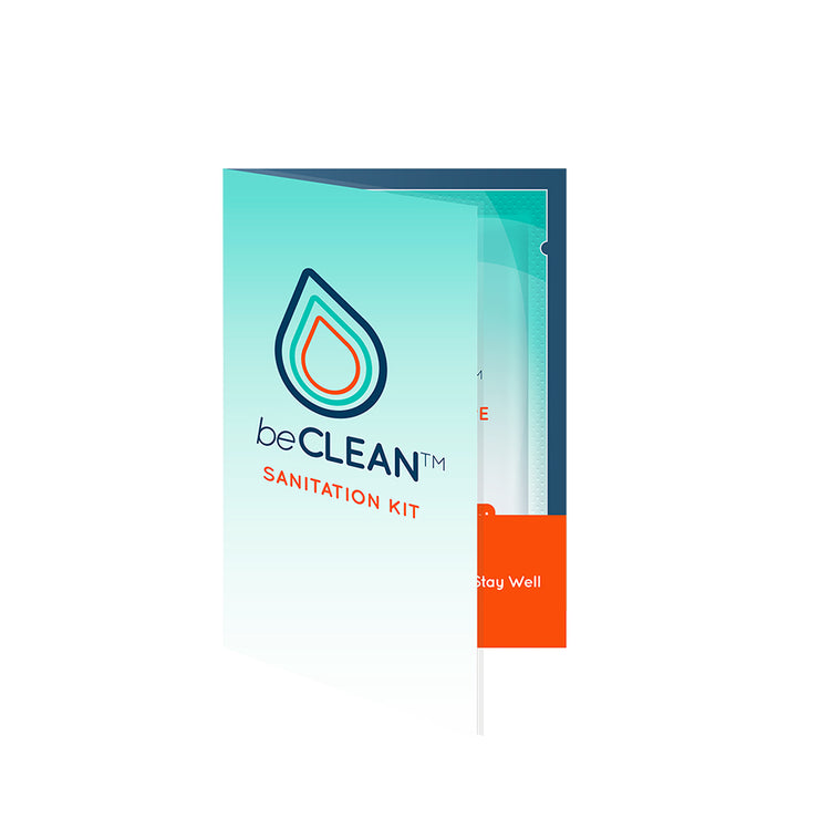 beCLEAN Wipe Wallet - World Amenities