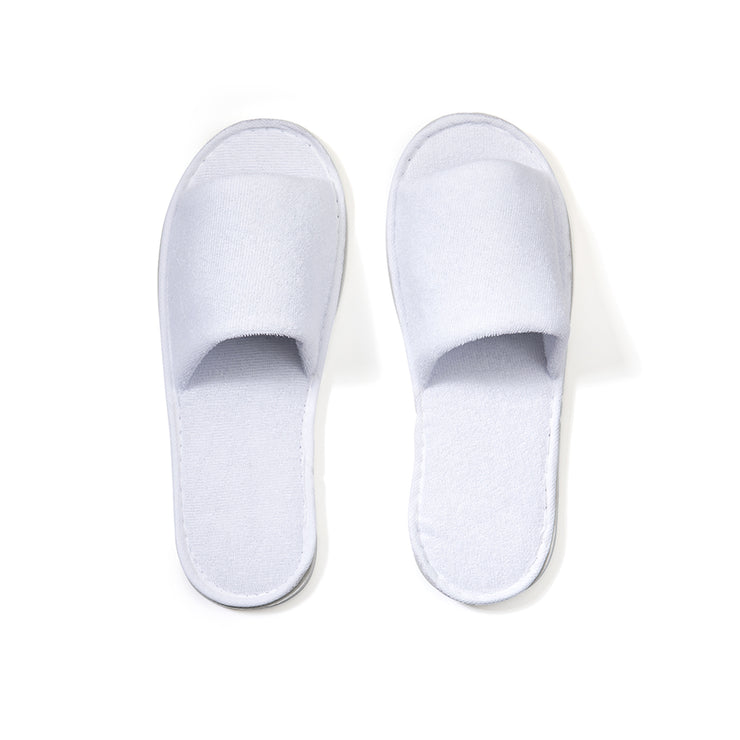 World Amenities - Open-Toe Slippers