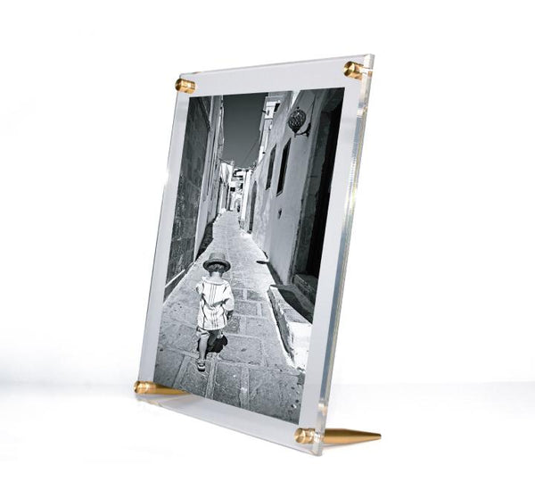 Tabletop Acrylic Frame - Gold
