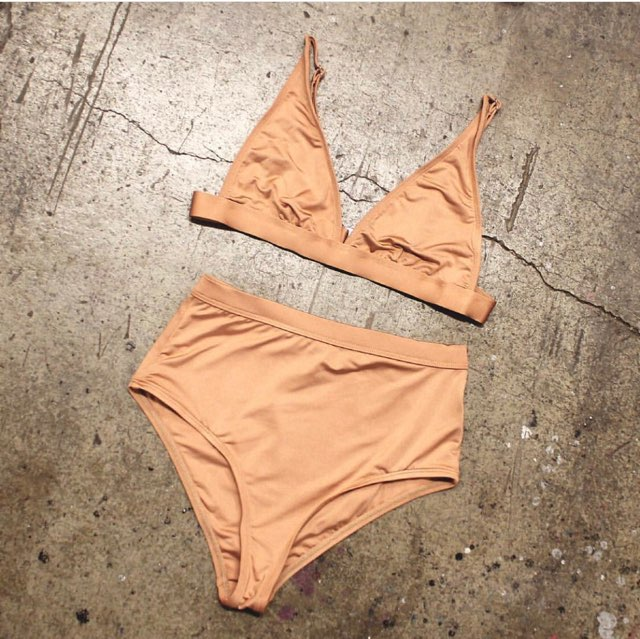 The Brittney High Waisted Bikini Set
