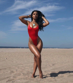 The Baywatch One Piece Swimsuit