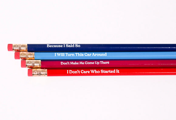 Things Parents Say Pencil Set