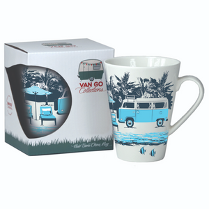 Hippy Days China Mug - Combi Van