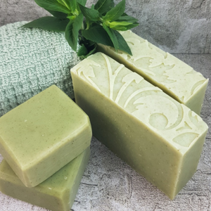 Spearmint Leaf Soap