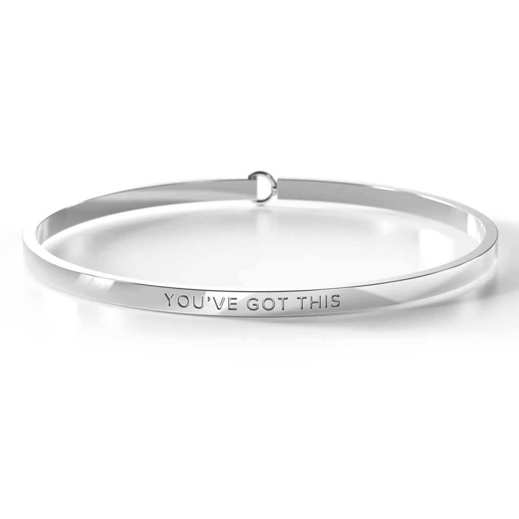You've Got This - Clasp Bangle