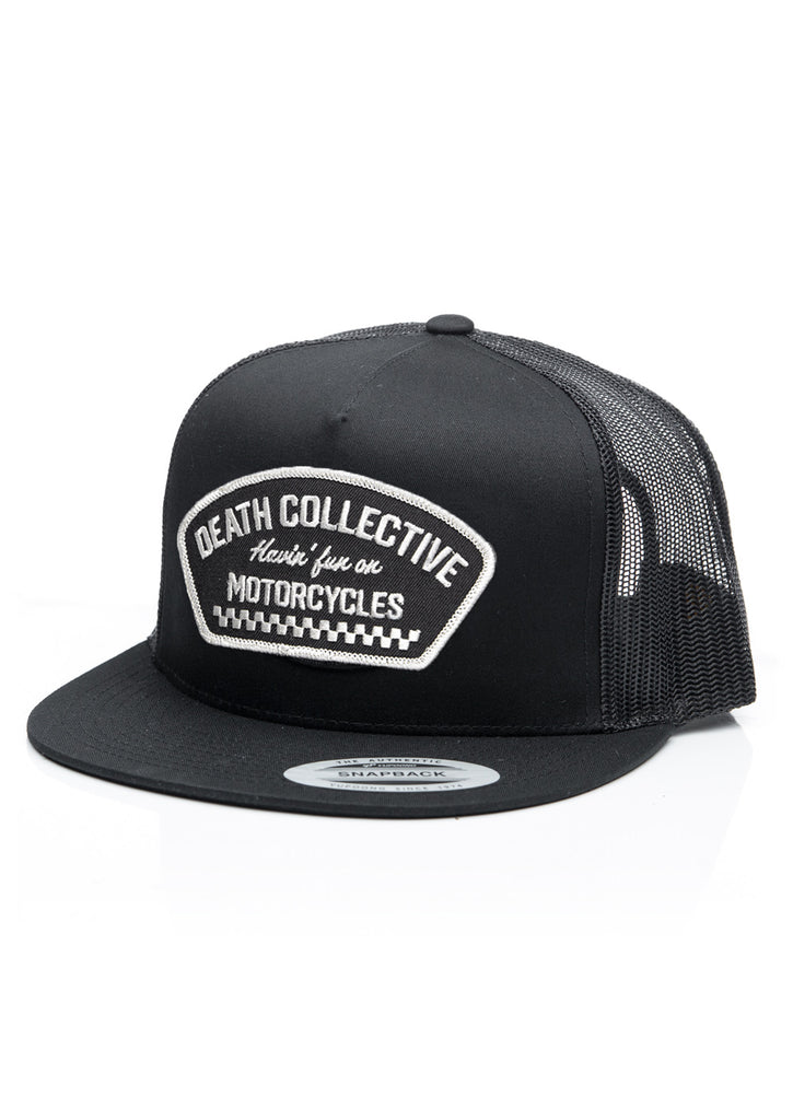 Badge Snapback Trucker Cap