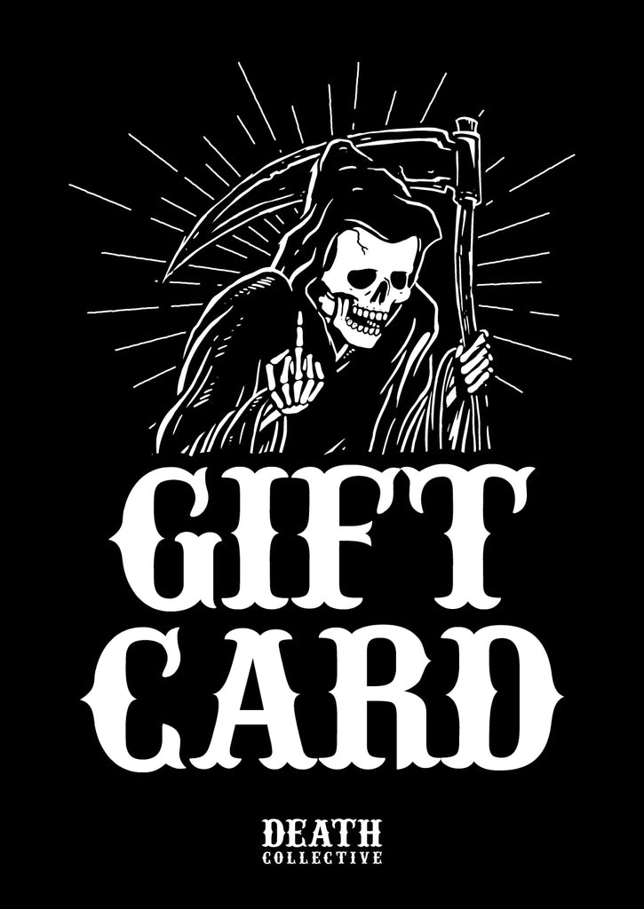 Death Collective Gift Card