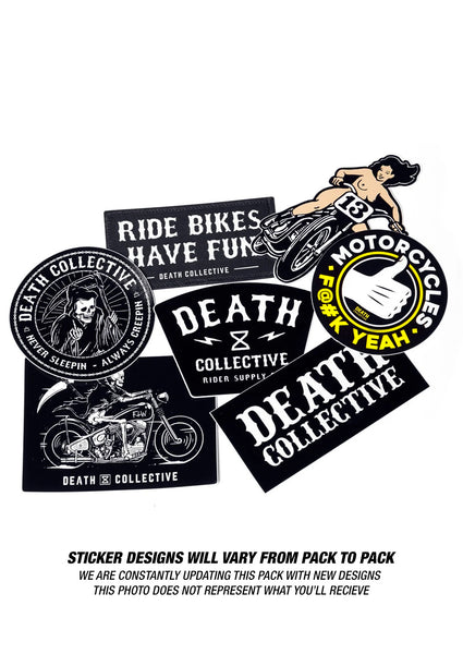 Death Collective Sticker Pack