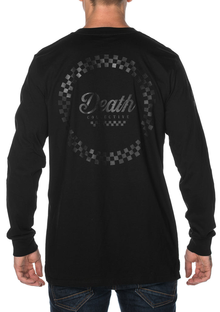 Racer Long Sleeve Tee - Black