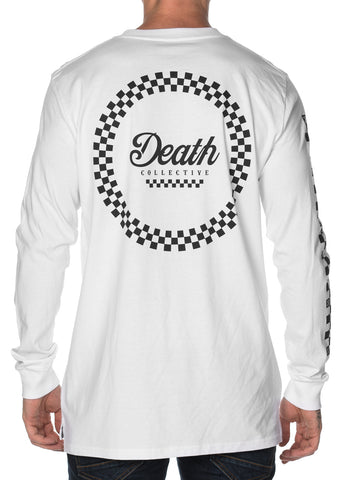 Racer Long Sleeve Tee - White