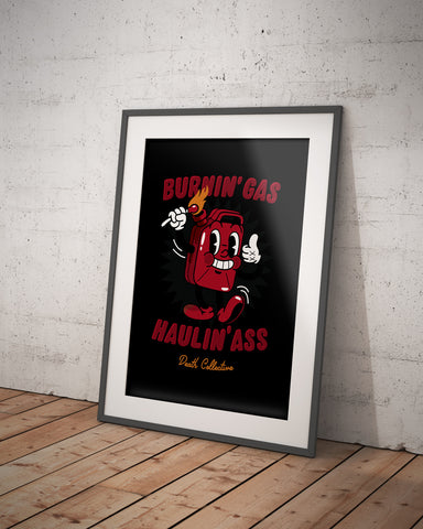 'Gasboy' Screen Printed Poster