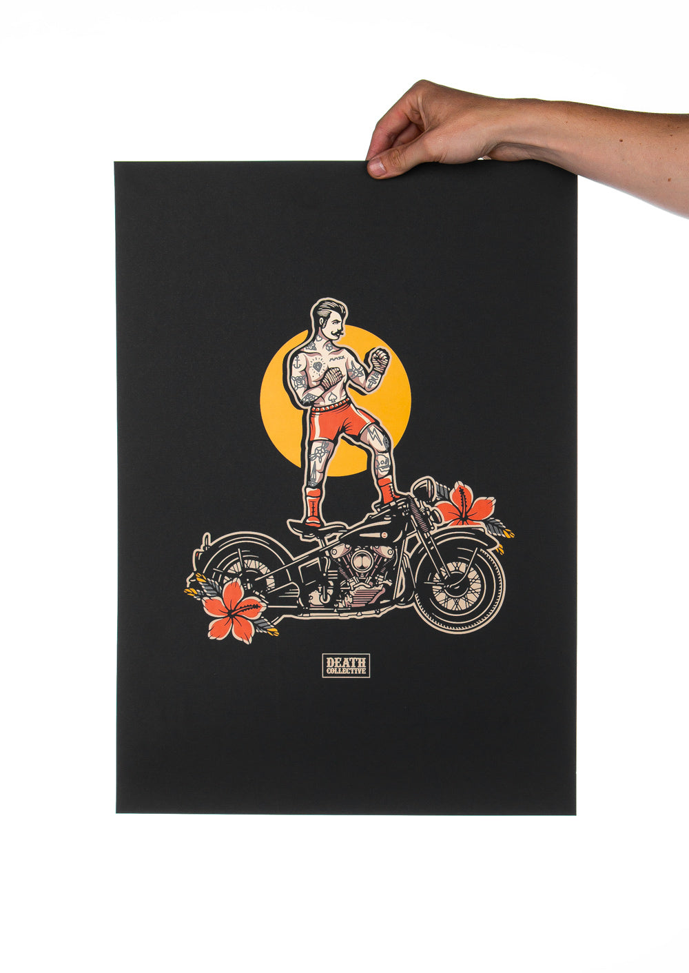 'Knuckle' Screen Printed Poster