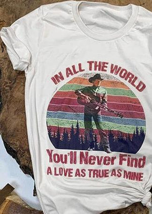 You'll Never Find O-Neck T-Shirt Tee