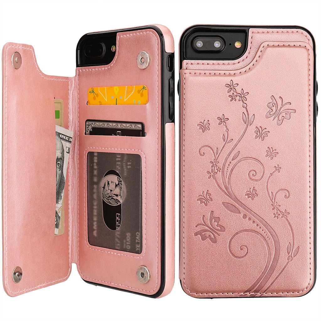 WALLET CASE PETAL H for iPhone 7/8 Plus