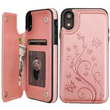 WALLET CASE PETAL H for iPhone XR